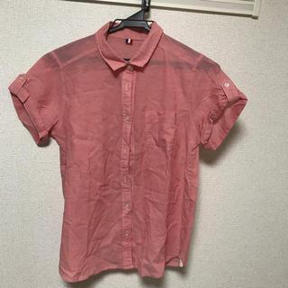 ジーユー(GU)のロールアップシャツ(シャツ/ブラウス(半袖/袖なし))