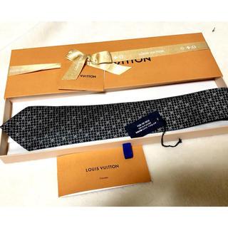 ルイヴィトン(LOUIS VUITTON)のLV ルイ ヴィトン ねくたい ネクタイ 正規品 中古 美品 正規品 (ネクタイ)