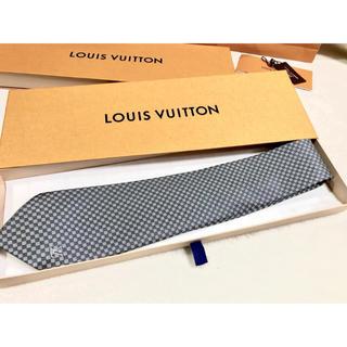 ルイヴィトン(LOUIS VUITTON)のLV ルイ ヴィトン ねくたい ネクタイ 正規品 中古 美品 正規品(ネクタイ)