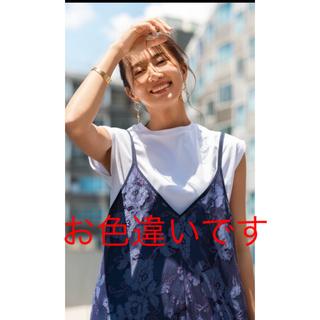 マイストラーダ(Mystrada)の新品タグ付きマイストラーダクルーネックカットソーチョコ(カットソー(半袖/袖なし))
