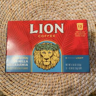 ライオン(LION)のlion coffee k-cup用 バニラマカダミア(コーヒー)