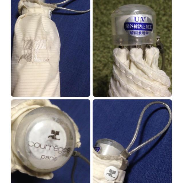 Courreges(クレージュ)のクレージュ  晴雨兼用傘 レディースのファッション小物(傘)の商品写真