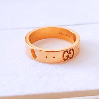 グッチ(Gucci)の定価85,320円 日本限定 GUCCI アイコン アモール ゴールド リング(リング(指輪))