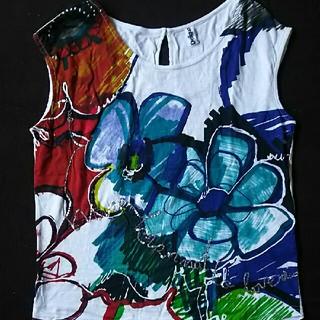 デシグアル(DESIGUAL)のDesigual ノースリーブ(Tシャツ(半袖/袖なし))
