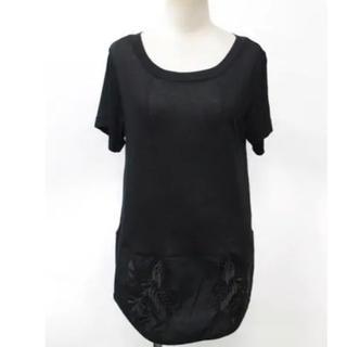 マメ(mame)の➖最終SALE➖ Mame Kurogouchi 刺繍 Tシャツ 13SS(Tシャツ(半袖/袖なし))