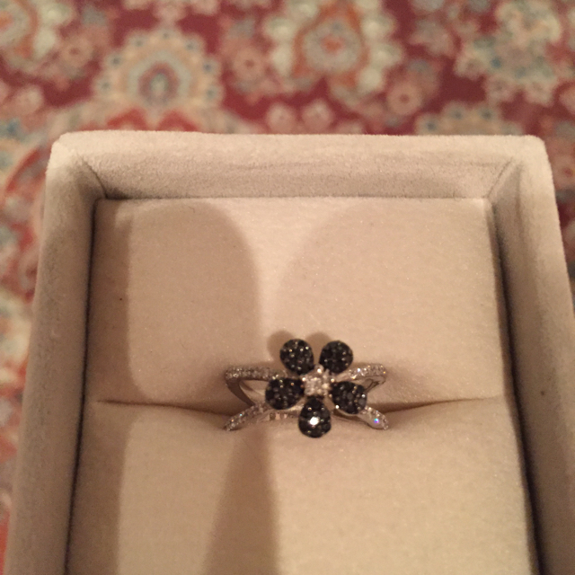 PonteVecchio(ポンテヴェキオ)のLisa様ご専用♡ポンテヴェキオ♡ブラックダイヤモンドリング レディースのアクセサリー(リング(指輪))の商品写真