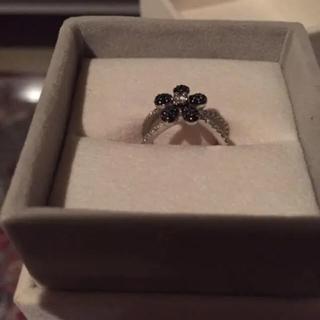 ポンテヴェキオ(PonteVecchio)のLisa様ご専用♡ポンテヴェキオ♡ブラックダイヤモンドリング(リング(指輪))