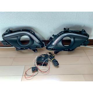 マツダ(マツダ)のアテンザ GJ系 セダン/ワゴン LED デイライト付フロントフォグカバー(車外アクセサリ)