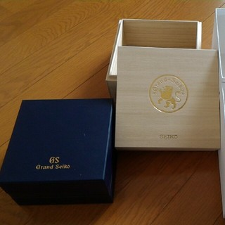 グランドセイコー(Grand Seiko)のグランドセイコー 箱(桐箱つき)(腕時計)
