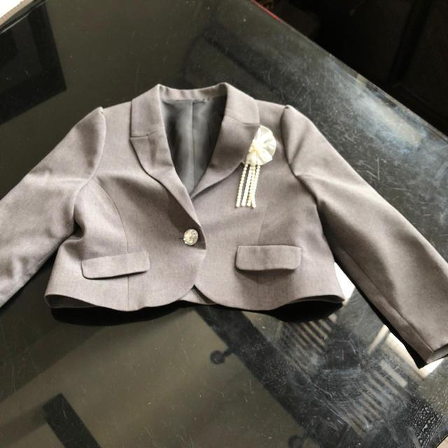 しまむら(シマムラ)の子供用ジャケット キッズ/ベビー/マタニティのキッズ服 女の子用(90cm~)(ジャケット/上着)の商品写真