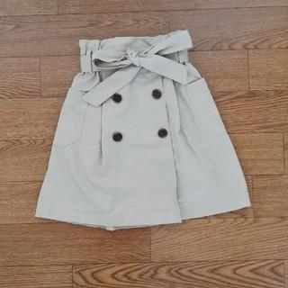 ジーユー(GU)のGU トレンチスカート 110(スカート)