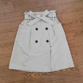 ジーユー(GU)のGU トレンチスカート 140(スカート)