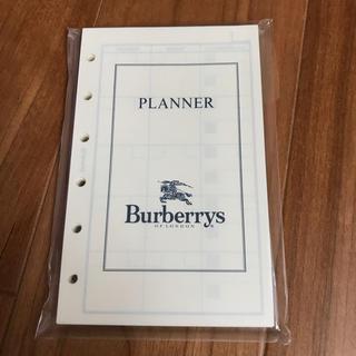 バーバリー(BURBERRY)の🌟【Burberry】スケジュール レフィル(カレンダー/スケジュール)