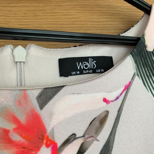 Wallis(ウォリス)の値下げ★Wallis ノースリーブ花柄ワンピース レディースのワンピース(ひざ丈ワンピース)の商品写真