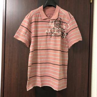 ゲス(GUESS)のGUESSダメージ加工ポロシャツ半袖(ポロシャツ)