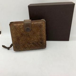 ボッテガヴェネタ(Bottega Veneta)のボッテガヴェネタ 二つ折り 財布 ブラウン メンズ(折り財布)