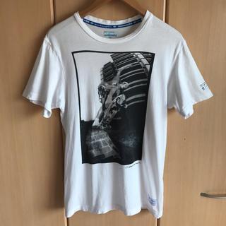 アディダス(adidas)のadidas × GONZ コラボ グラフィックフォト Tシャツ (Tシャツ/カットソー(半袖/袖なし))