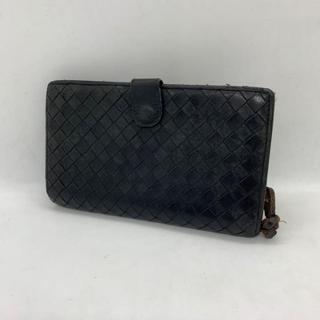 ボッテガヴェネタ(Bottega Veneta)のボッテガヴェネタ 財布 二つ折り 黒 メンズ(折り財布)