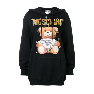 モスキーノ(MOSCHINO)の美品 新作 MOSCHINO ティディベア パーカー(パーカー)