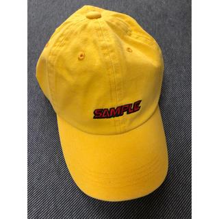 マウジー(moussy)の新品 帽子 イエロー  moussy タグ付き キャップ(キャップ)