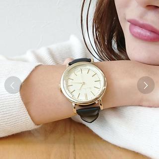 スリーフォータイム(ThreeFourTime)のThree Four Time レザーアナログ時計(腕時計)