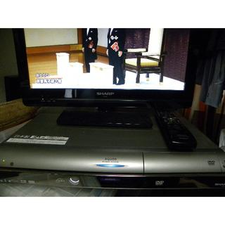 SHARP - HDD DVDレコーダー SHARP DV-AC52