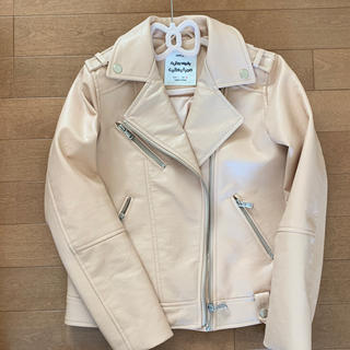 ザラキッズ(ZARA KIDS)のザラガール140ライダースジャケット新品(ジャケット/上着)