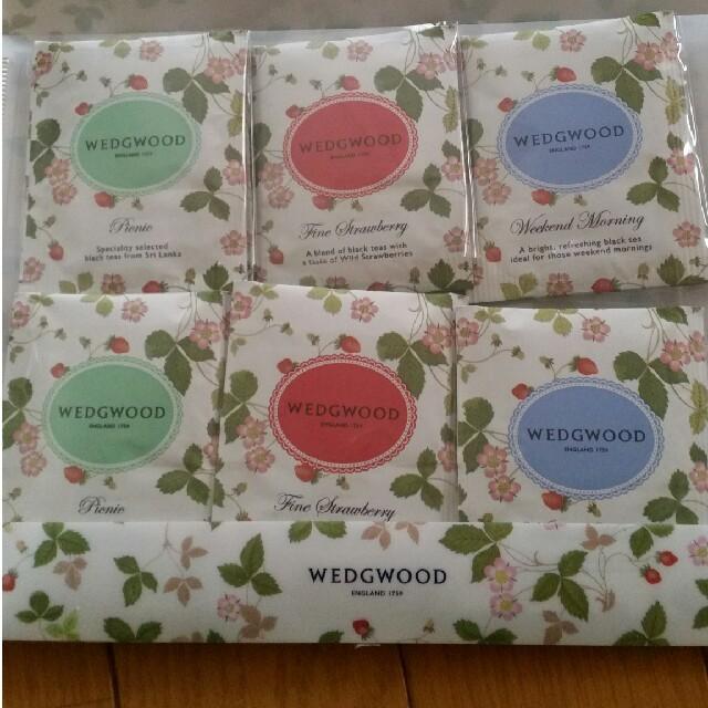 WEDGWOOD(ウェッジウッド)の紅茶 18袋 食品/飲料/酒の飲料(茶)の商品写真