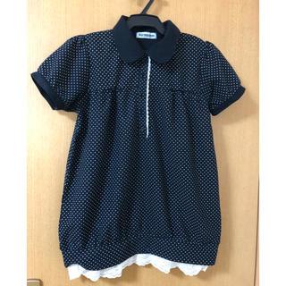 シマムラ(しまむら)の子供服 女児 半袖 ポロシャツ 160(Tシャツ/カットソー)
