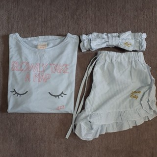 シマムラ(しまむら)の夏用 パジャマ 3点セット(パジャマ)