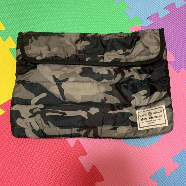 nano・universe(ナノユニバース)の迷彩☆ナノユニバース メンズのバッグ(セカンドバッグ/クラッチバッグ)の商品写真