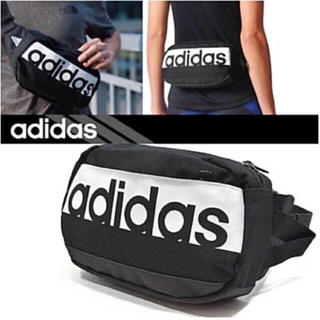 アディダス(adidas)のアディダス adidas ウエストポーチ ウエストバッグ ★新品未使用★(ボディバッグ/ウエストポーチ)