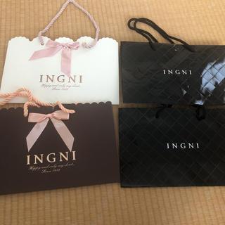 イング(INGNI)のショップ袋(ショップ袋)
