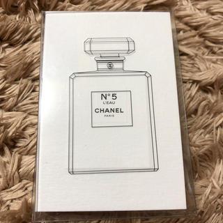 シャネル(CHANEL)のシャネル No.5  香水 試供品(香水(女性用))