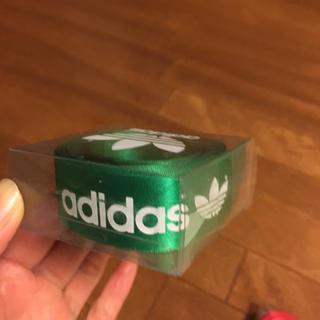 アディダス(adidas)のアディダス ロゴ入りリボン(各種パーツ)