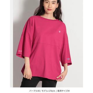 ニコアンド(niko and...)の*値下げ*niko and..×champion コラボTシャツ(シャツ/ブラウス(長袖/七分))
