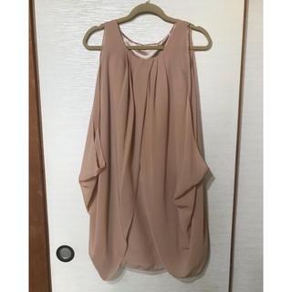 バビロン(BABYLONE)のベージュピンク 3wayワンピース ドレス(ミディアムドレス)