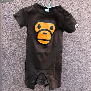 アベイシングエイプ(A BATHING APE)のa bathing ape(ロンパース)