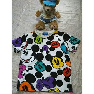 ディズニー(Disney)の【専用】ディズニー ミッキーのお顔いっぱいTシャツ  150(Tシャツ/カットソー)