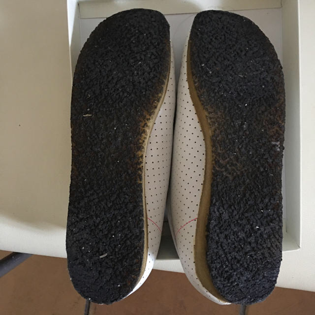 Clarks(クラークス)のクラークス ホワイトシューズ  レディースの靴/シューズ(ローファー/革靴)の商品写真