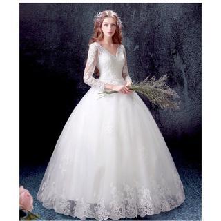 f17490f6fa6ba 素敵なウエディングドレス 編み上げ 結婚式 披露宴 二次会 発表会 演奏会 ステ(ウェディング
