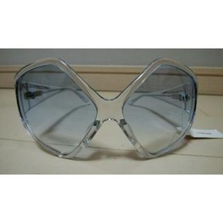 チャラヤン(CHALAYAN)のCHALAYAN(チャラヤン) クリアプラスチックサングラス 72-HC01(サングラス/メガネ)