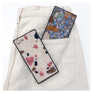 シールームリン(SeaRoomlynn)のMULTI STONE ガラスiPhoneケース (iPhoneケース)