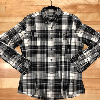 バーバリーブラックレーベル(BURBERRY BLACK LABEL)のバーバリー ブラックレーベル メンズチェックシャツ(シャツ)