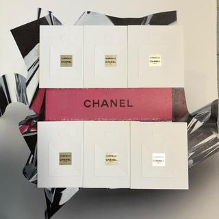 シャネル(CHANEL)のCHANEL GABRIELLE ムエット 6枚セット ♡(その他)