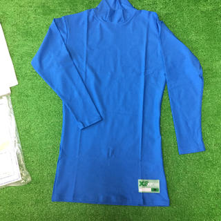 ザナックス(Xanax)のXanax ハイネック長袖パワーアンダーシャツ ライトブルー M 新品(ウェア)