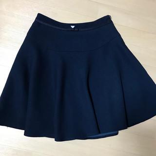 グローブ(grove)の紺色 スカート(ミニスカート)