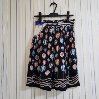 ツモリチサト(TSUMORI CHISATO)のTSUMORI CHISATO 気球柄スカート(ひざ丈スカート)