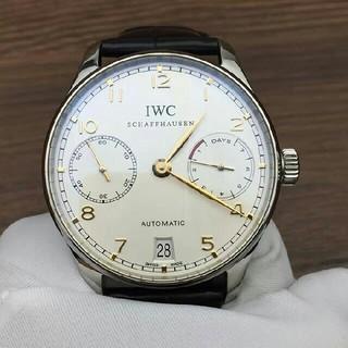 インターナショナルウォッチカンパニー(IWC)のIWC ポルトギーゼ アナログ カレンダーIW500705(腕時計(アナログ))