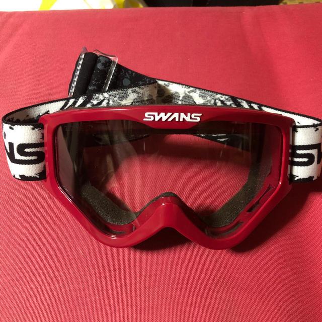 SWANS(スワンズ)のオフロードヘルメット ゴーグル SWANS 自動車/バイクのバイク(モトクロス用品)の商品写真